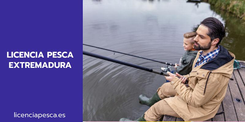 licencia pesca Extremadura