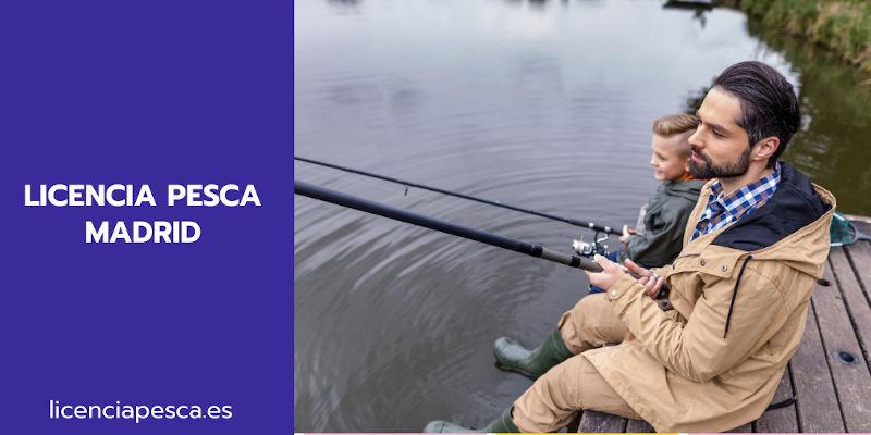 licencia pesca Madrid